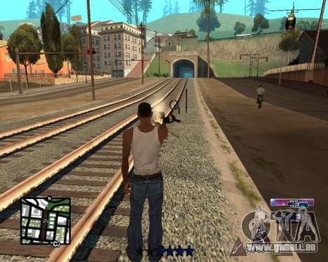 COSMOS C-HUD für GTA San Andreas