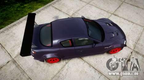 Mazda RX-8 Duck Edition für GTA 4 rechte Ansicht