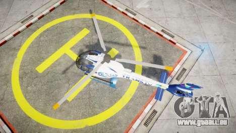 Eurocopter EC130 B4 TRANS TV für GTA 4 rechte Ansicht