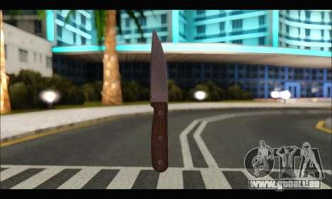Couteau roumain CR1 pour GTA San Andreas