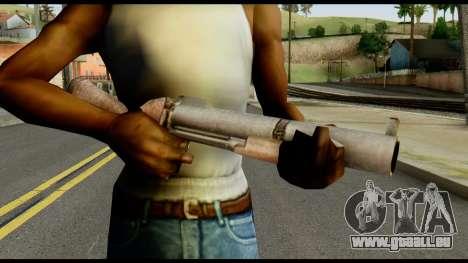 M79 from Max Payne pour GTA San Andreas troisième écran