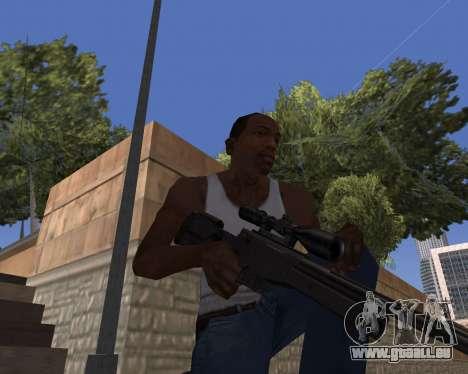 HD Weapon Pack pour GTA San Andreas deuxième écran