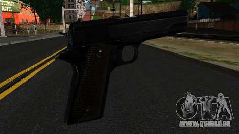 Colt M1911 from S.T.A.L.K.E.R. pour GTA San Andreas deuxième écran