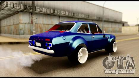 Ford Escort MK1 Modifive für GTA San Andreas zurück linke Ansicht