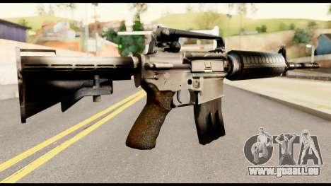 M4 from Metal Gear Solid pour GTA San Andreas deuxième écran