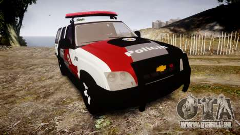 Chevrolet Blazer 2010 Tactical Force [ELS] für GTA 4