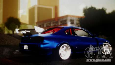 Nissan Silvia S15 DC Hunter für GTA San Andreas linke Ansicht