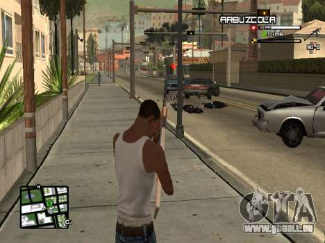 CLEO HUD by SampHack v.20 für GTA San Andreas dritten Screenshot