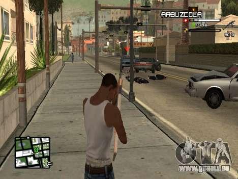 CLEO HUD by SampHack v.20 pour GTA San Andreas troisième écran
