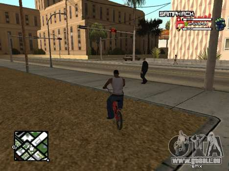 С-HUD durch SampHack v. 21 für GTA San Andreas