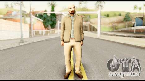 Heisenberg from Breaking Bad pour GTA San Andreas
