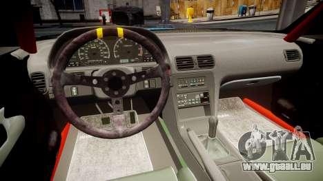 Nissan Silvia S13 Missile für GTA 4 Rückansicht