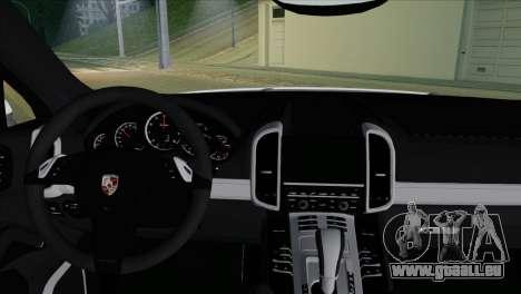Porsche Cayenne Turbo 2012 pour GTA San Andreas vue de droite