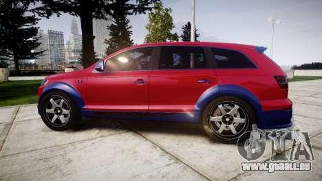 Audi Q7 2009 ABT Sportsline für GTA 4 linke Ansicht