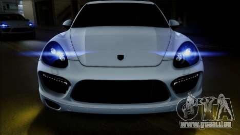 Porsche Cayenne Turbo 2012 pour GTA San Andreas vue arrière