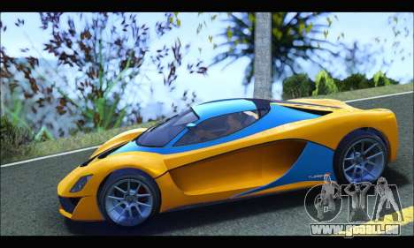 Grotti Turismo R v2 (GTA V) (IVF) für GTA San Andreas linke Ansicht