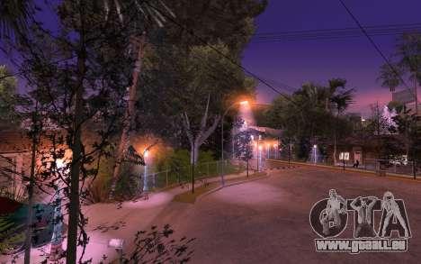 New Grove Street 50 für GTA San Andreas dritten Screenshot