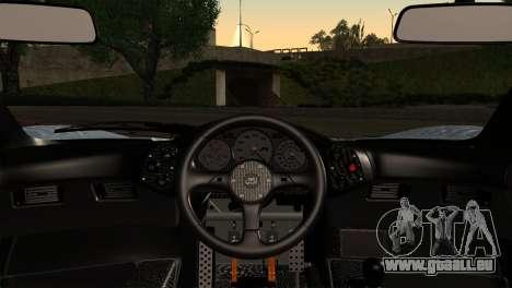McLaren F1 Autovista pour GTA San Andreas sur la vue arrière gauche