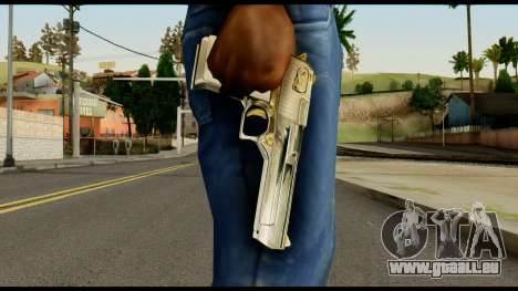 Desert Eagle from Max Payne für GTA San Andreas dritten Screenshot