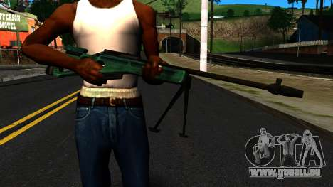 SV-98 mit einem Zweibein und hinten keine Augen für GTA San Andreas dritten Screenshot
