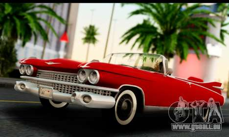 Cadillac Eldorado Biarritz Convertible 1959 pour GTA San Andreas