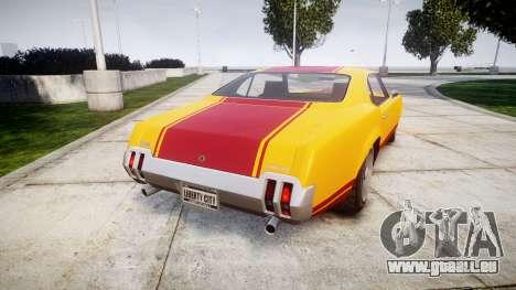 Declasse Sabre GT Little Wheel pour GTA 4 Vue arrière de la gauche