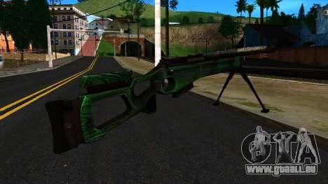 SV-98 mit einem Zweibein und hinten keine Augen für GTA San Andreas zweiten Screenshot