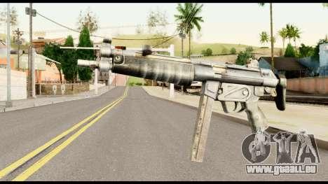 MP5 mit dem Hintern Gefaltet für GTA San Andreas