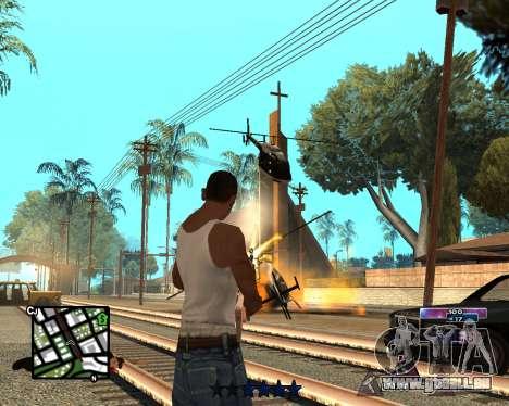 COSMOS C-HUD für GTA San Andreas zweiten Screenshot