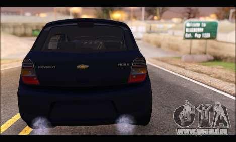 Chevrolet Agile Tunning pour GTA San Andreas sur la vue arrière gauche