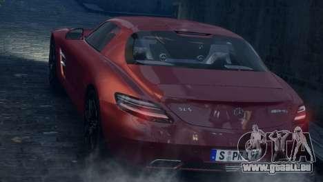 Mercedes-Benz SLS AMG 2011 [EPM] pour GTA 4 est un côté