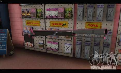 GTA V Musket pour GTA San Andreas deuxième écran