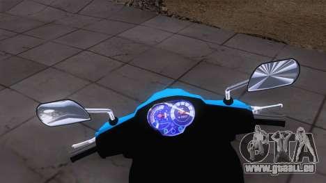 Yamaha Vega RR pour GTA San Andreas sur la vue arrière gauche