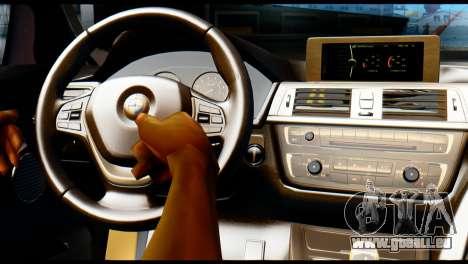 BMW 4-series F32 Coupe 2014 Vossen CV5 V1.0 pour GTA San Andreas vue de droite