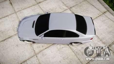 BMW E46 M3 pour GTA 4 est un droit