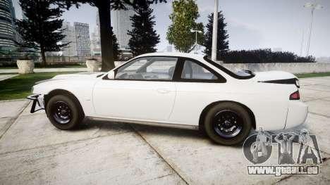 Nissan Silvia S14 Missile für GTA 4 linke Ansicht
