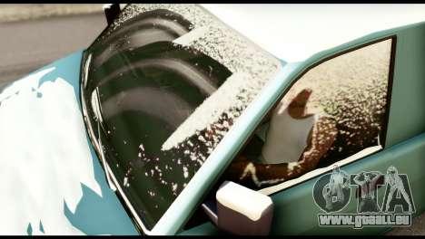 GTA 5 Burrito pour GTA San Andreas sur la vue arrière gauche