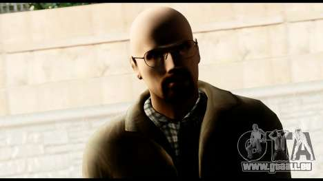 Heisenberg from Breaking Bad für GTA San Andreas dritten Screenshot