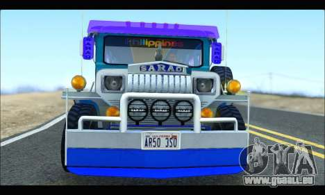 Light Jeepney für GTA San Andreas