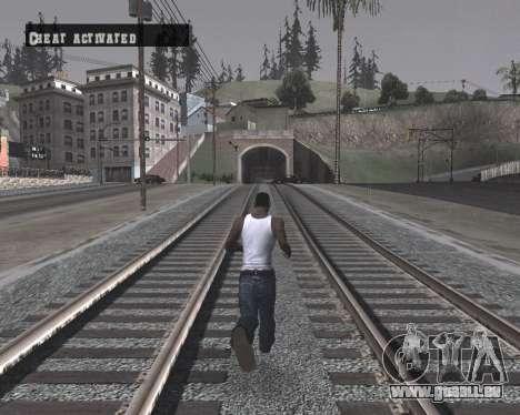 Colormod High Black pour GTA San Andreas quatrième écran