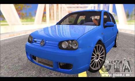 VW Golf R32 - Stock für GTA San Andreas