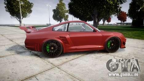 GTA V Pfister Comet 918 Wheel pour GTA 4 est une gauche