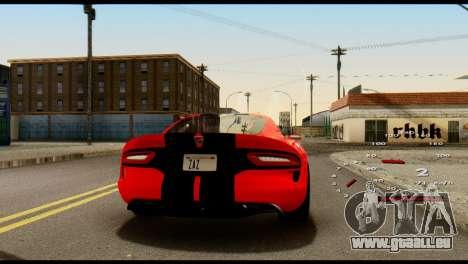 Car Speed Constant 2 v2 pour GTA San Andreas troisième écran