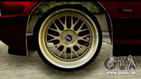 BMW 525i E34 für GTA San Andreas zurück linke Ansicht