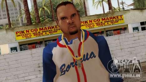 GTA 4 Skin 20 pour GTA San Andreas troisième écran