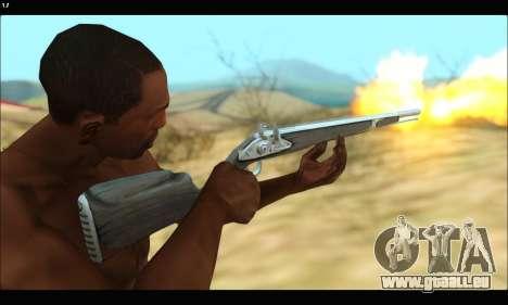 GTA V Musket pour GTA San Andreas quatrième écran