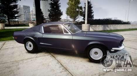 Ford Mustang GT Fastback 1968 Auto Drag III für GTA 4 linke Ansicht