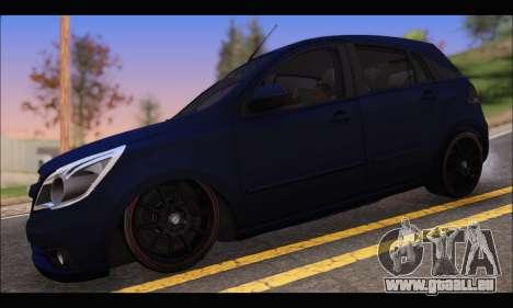Chevrolet Agile Tunning pour GTA San Andreas laissé vue