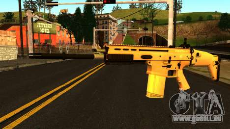 FN SCAR-H from Medal of Honor: Warfighter pour GTA San Andreas