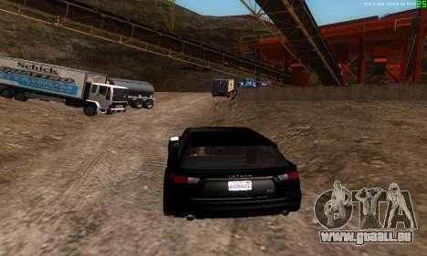 De nouvelles voies de transport pour GTA San Andreas quatrième écran